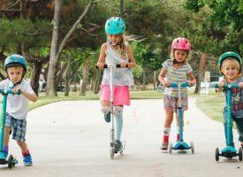 Запишете детето си на състезание с тротинетки на Острова