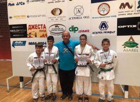 """Джудистите на СК""""Кодокан"""" с успех и 14 медала от два международни турнира"""