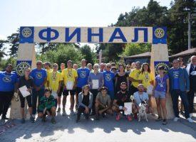 69-годишен панагюрец пробяга 10 км в маратона на Ротари клуб