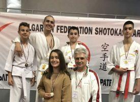 12 медала за СК Тонус Спорт от първенството по Шотокан Карате До