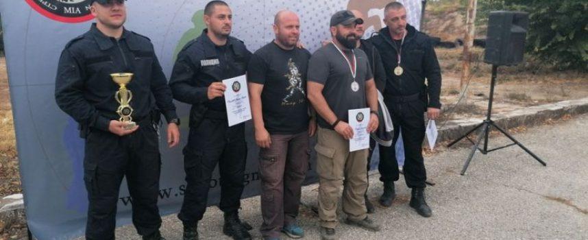 В Црънча: Специализирано занятие по стрелба се проведе днес