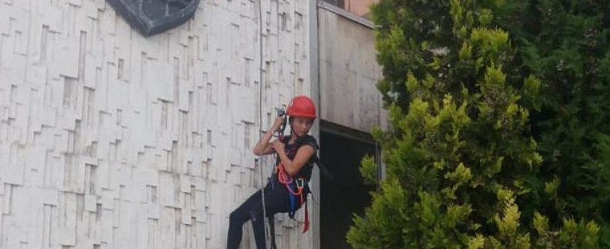 Продължава състезанието за изкачване на сградата на Община Пазарджик