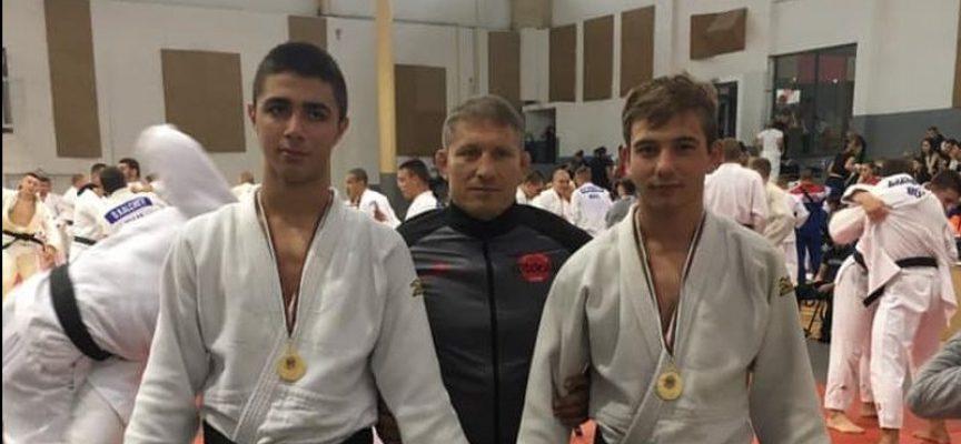 Мариян Палев и Ивелин Танковски са на тренировъчен лагер с Националния отбор по джудо