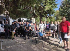 77 стажанти от Полицейското дариха кръв