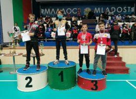 Един златен, три сребърни и осем бронзови медала за Спартак Пазарджик на Държавното по кикбокс