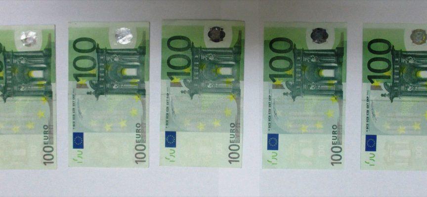Задържаха 55-годишен за пласиране на фалшива еврова банкнота