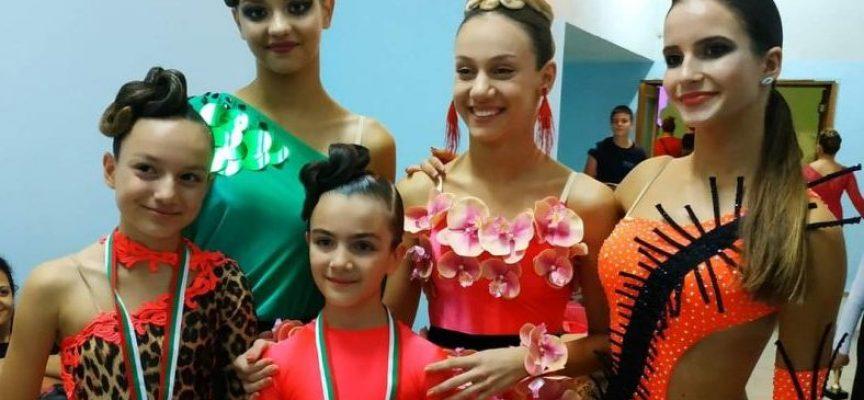 Изключителен успех! Седем златни медала за СК Импулс на държавни първенства по спортни танци