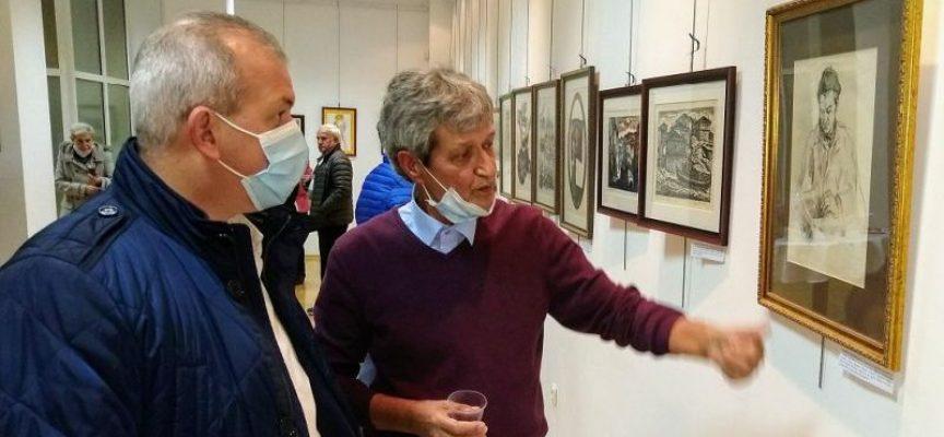 """Пещера: Костадин Ненков откри изложба с колекцията си """"Графика"""""""