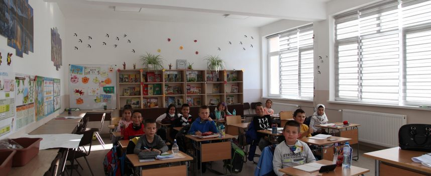 Вижте изцяло обновеното училище в Сърница