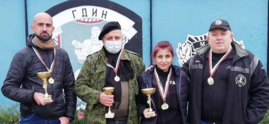 Пазарджишките надзиратели първенци в Републикански турнир по стрелба