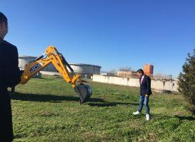 Кметът Тодор Попов стартира разширението на Пречиствателната станция