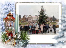 Брацигово е готово да посрещне Рождество, елхата грейна