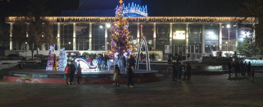 Грейна Коледната елха в Пазарджик