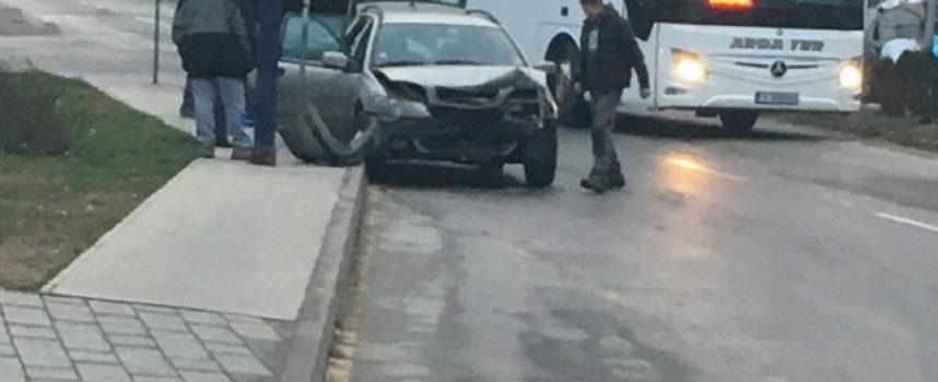 ПТП стана тази сутрин в района на Автогарата