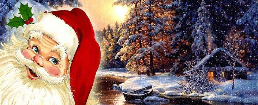Дядо Коледа с послание до всички деца от Лапландия
