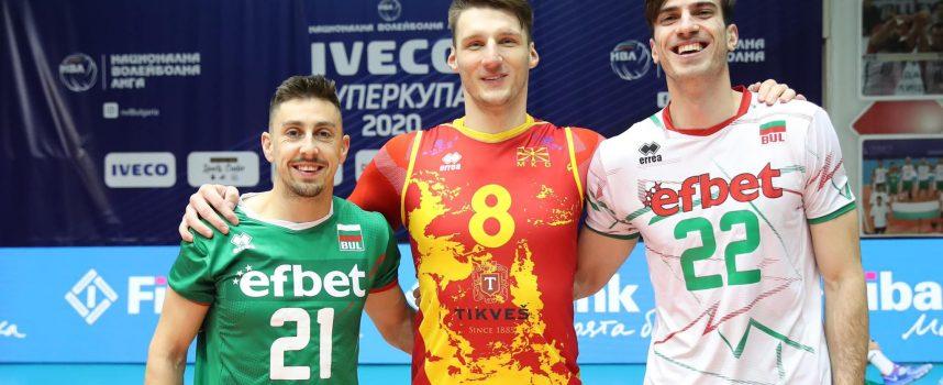 """България и Северна Македония """"воюват"""" на волейболния терен днес"""