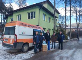 Дружество дари кислороден концентратор и обдишватели за мобилно оборудване на Сърница