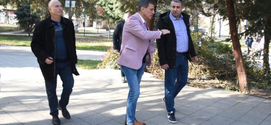 Тодор Попов: Започваме реновиране и на Градската градина, за да отговорим на очакванията на хората