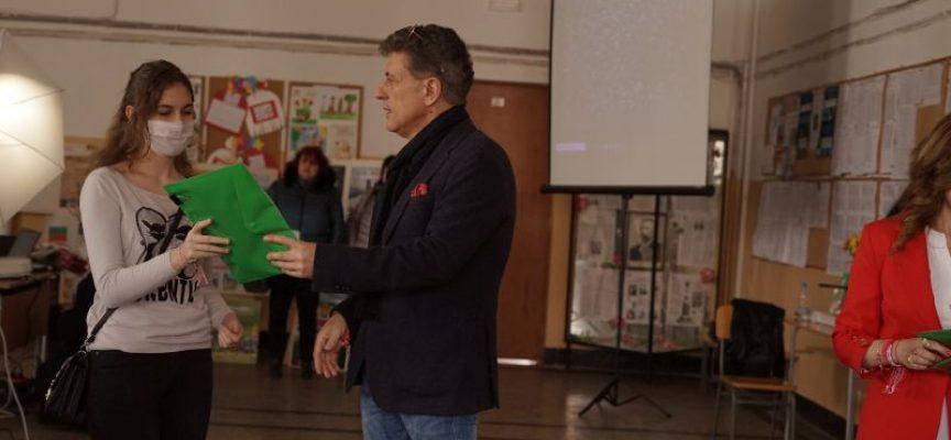 """Тодор Попов към възпитаниците на ПМГ """"К. Величков"""": Математическата гимназия винаги е била една от визитните картички на нашия град"""