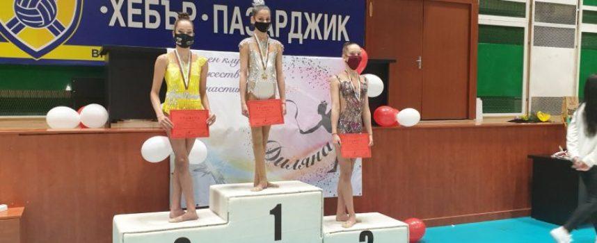 """21 медала за грациите на """"Диляна"""", Цветейоана Пейчева с 2 златни отличия"""