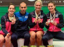 Сестри Стоеви шампионки на държавното, Гери Павлова с два бронзови медала