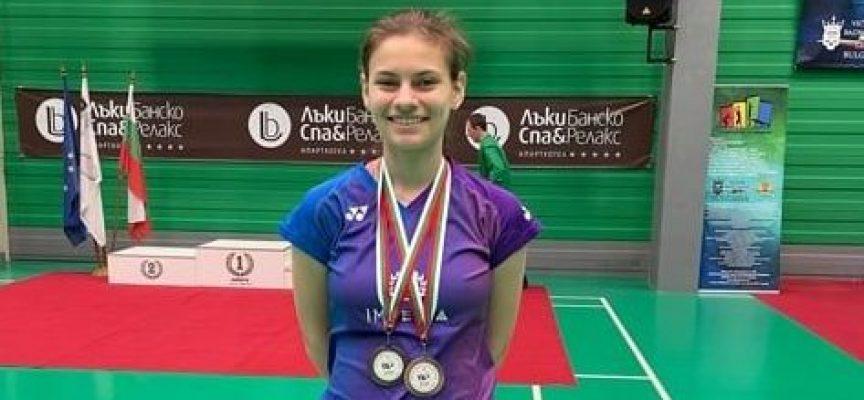 Пазарджиклийката Гергана Павлова финишира втора на завършилата Световна купа по Бадминтон за младежи и девойки, чийто домакин бе Пазарджик