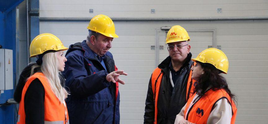 """Министърът на околната среда и водите Емил Димитров посети """"Асарел-Медет""""АД"""
