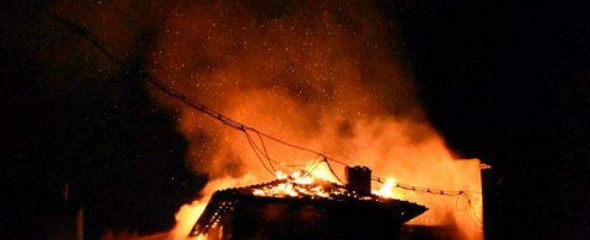 Мъж изгоря при пожар в Огняново