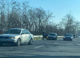 Джанта се измъкна от движеща се кола, шофирайте внимателно по пътя Пловдив – Пазарджик