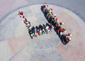 """С флашмоб младите подкрепиха коалиция """"БСП за България"""""""