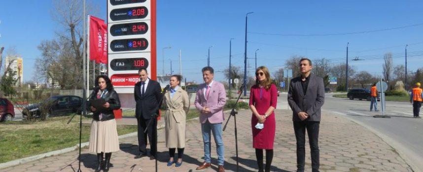 Първа копка на ремонт на пътя Пазарджик – Батак и Пазарджик – Белово направи днес кметът Тодор Попов