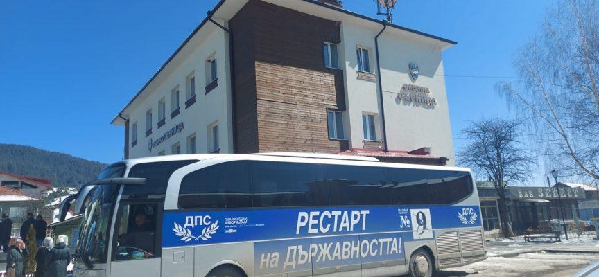 Йордан Цонев и Мустафа Карадайъ посетиха Сърница, Драгиново и Света Петка