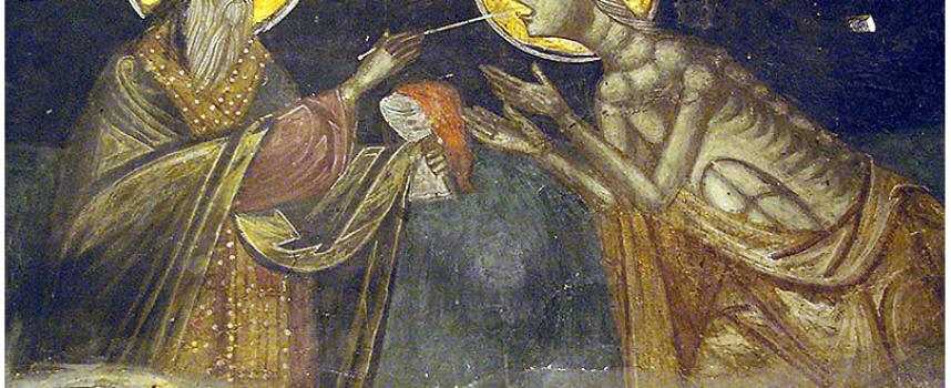 На 1-ви април църквата почита Мария Египетска, коя е тя?