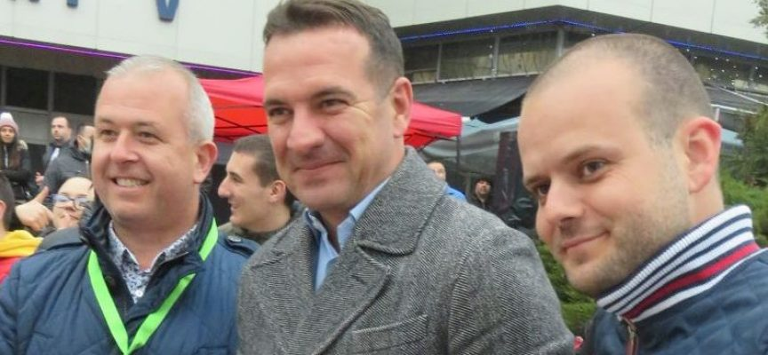 """Тази вечер: Кметът Йордан Младенов и Крум Дончев дадоха старта на спринт рали """"Пещера"""""""