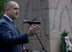 Президентът Румен Радев: На място като днешното, пред този паметник и хора като вас, човек се усеща българин