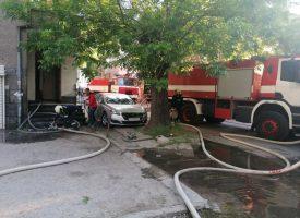 Горски пожар вилня и край Сърница