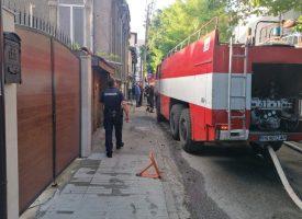 Неизправен уред е довел до пожара в центъра, собственикът е без опасност за живота