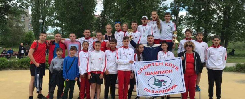 """СК Шампион са отличниците по модерен петобой на Мемориал """"Христо Чочев"""""""