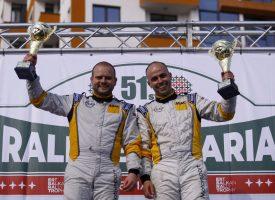 Даниел Попов и Ангел Башкехайов са победителите в ERT2 на рали България 2021