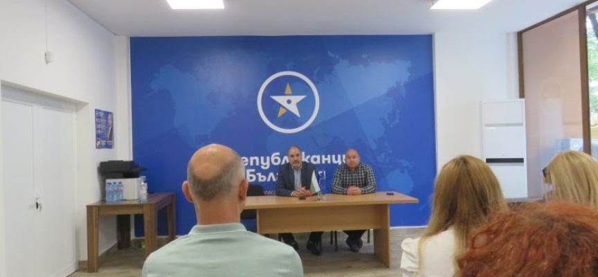 Цветан Цветанов в Пазарджик: Нашите гласове бяха откраднати на предишните избори