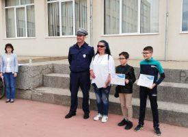 """В СУ """"Георги Бенковски"""" – Пазарджик се проведе областният кръг на Националното състезание по БДП"""