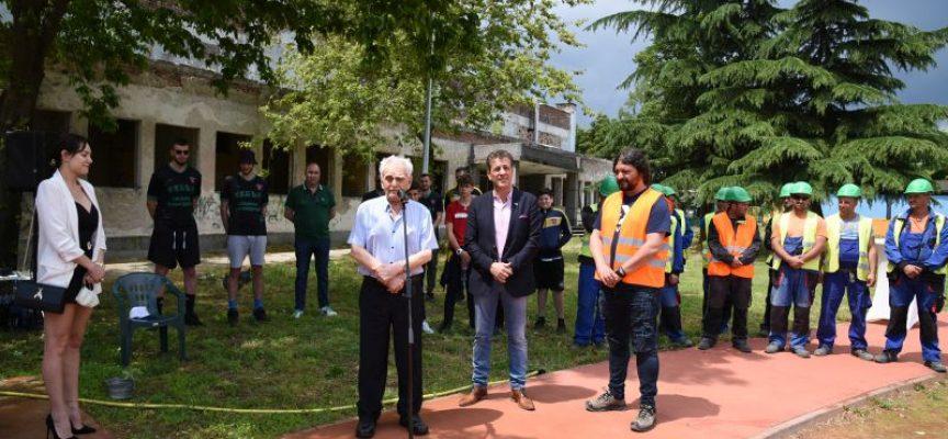 Тодор Попов: Започваме реновацията на спортната зала в Зоната на здравето