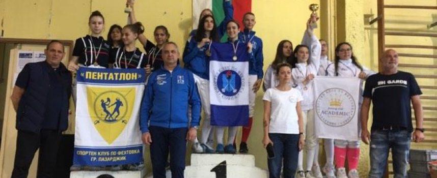 """Титла и общо седем медала за състезателите на СК """"Пентатлон"""""""