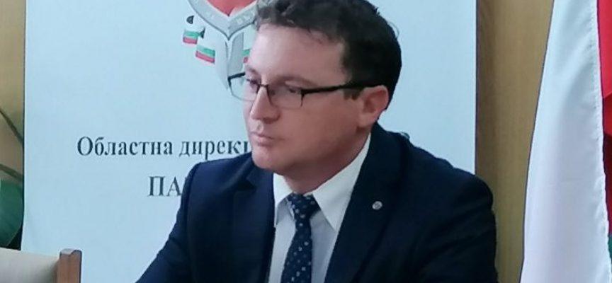 Старши комисар Петко Шотлеков е новият директор на ОДМВР-Пазарджик