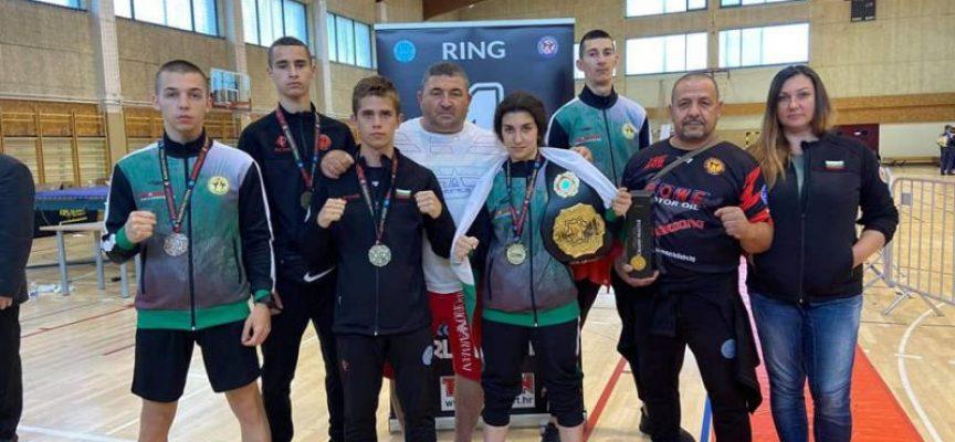 Пет медала за бойците на Спортен клуб по Кикбокс Спартак Пазарджик 2014 в Хърватия