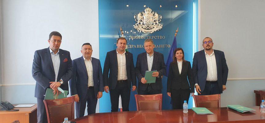 Неби Бозов се срещна с новия здравен министър