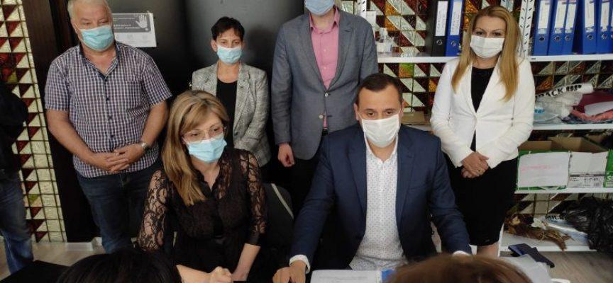 ГЕРБ Пазарджик регистрира листата си за участие в изборите в РИК