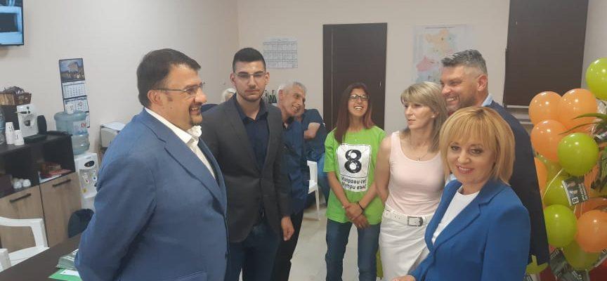 """""""Изправи се! Мутри вън!"""" откри предизборната си кампания в Пазарджик"""