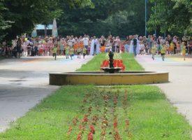 """Над 100 деца се включиха в състезанието """"Бягащи крачета"""" в Пазарджик"""