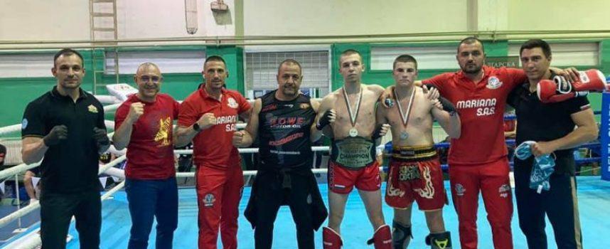 11 медала и шампионски пояс за кикбоксьорите на Спартак Пазарджик